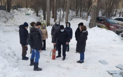 На объектах УрФАНИЦ УрО РАН прошли тренировки по ГО и ЧС