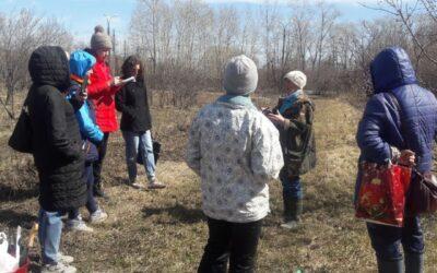 20 апреля на территории Свердловской селекционной станции садоводства, состоялось практическое занятие для садоводов.