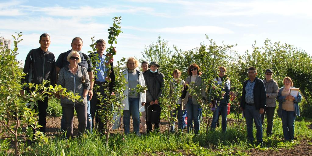 Приёмка полевых опытов на Свердловской селекционной станции садоводства